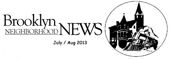Newsletter heading for website july