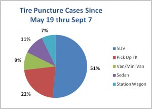 Tire Punctures cases