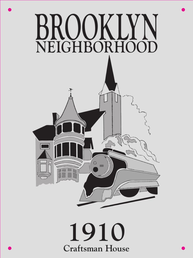 Sample Brooklyn neighborhood historical plaque